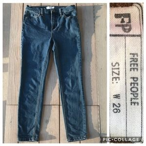 🦋2 for $32! Free People Skinny Jeans 26